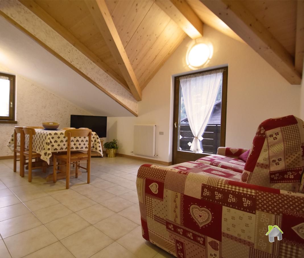Attico / Mansarda in affitto a Valdidentro, 2 locali, zona Zona: Isolaccia, Trattative riservate | CambioCasa.it