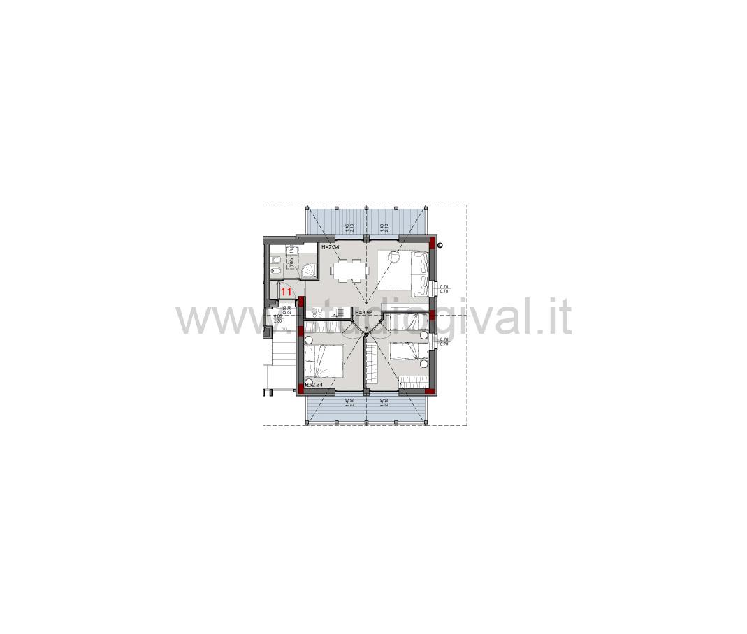 Appartamento in vendita a Valdidentro, 3 locali, zona Zona: Pedenosso, prezzo € 207.000 | CambioCasa.it