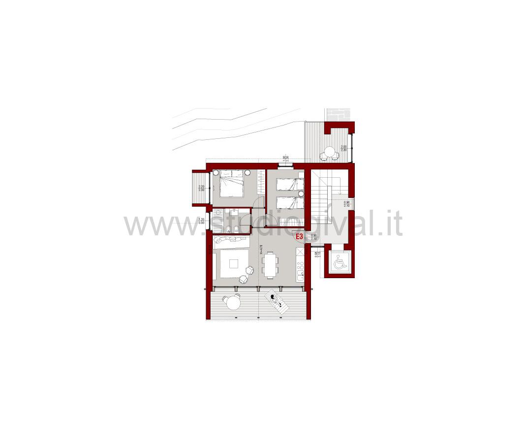 Appartamento in vendita a Valdidentro, 3 locali, prezzo € 312.000 | CambioCasa.it