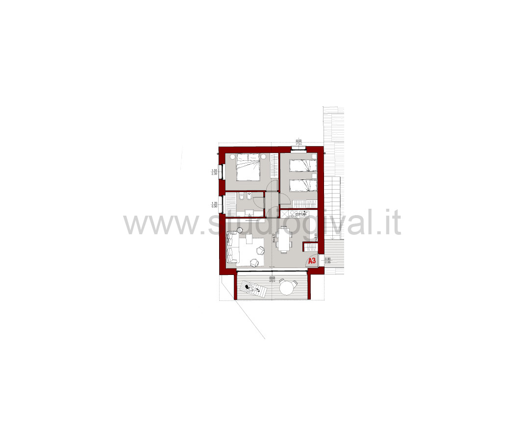Appartamento in vendita a Valdidentro, 3 locali, prezzo € 298.000 | CambioCasa.it