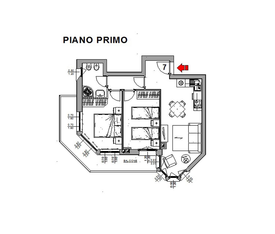 Appartamento in vendita a Valdisotto, 3 locali, zona Zona: Piazza, prezzo € 245.000   CambioCasa.it
