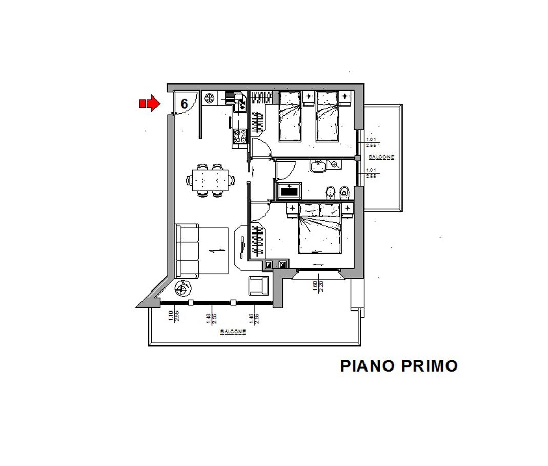 Appartamento in vendita a Valdisotto, 3 locali, zona Zona: Piazza, prezzo € 235.000   CambioCasa.it