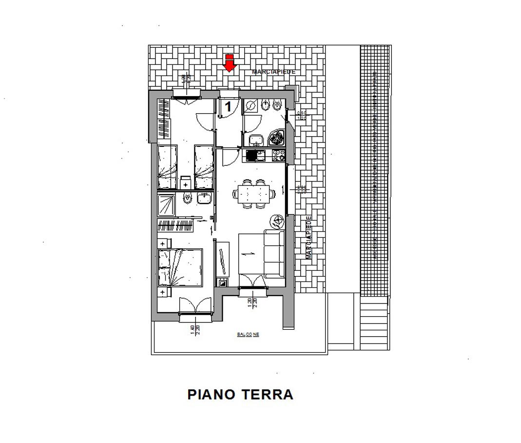 Appartamento in vendita a Valdisotto, 3 locali, zona Località: S.aLucia, prezzo € 235.000   CambioCasa.it
