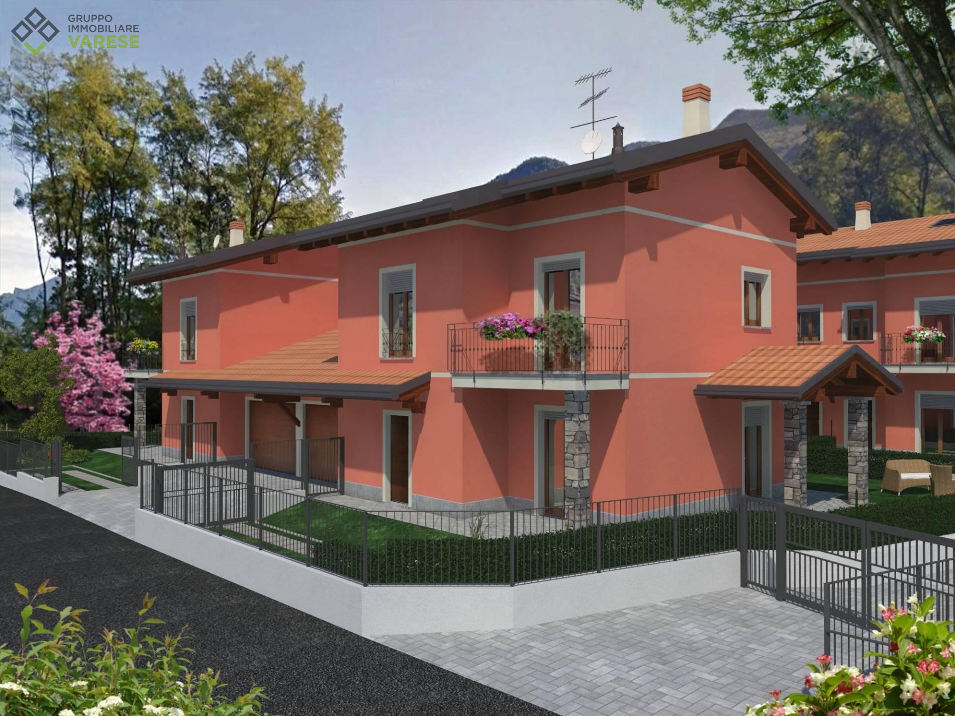 Villa in vendita a Porto Ceresio, 4 locali, prezzo € 325.000 | CambioCasa.it