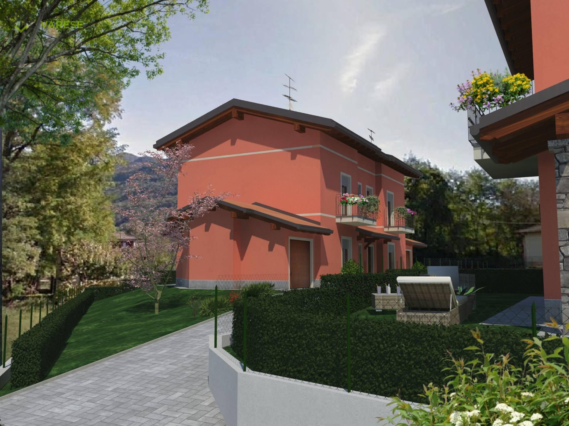 Villa in vendita a Porto Ceresio, 4 locali, prezzo € 305.000 | CambioCasa.it