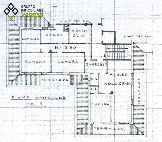Appartamento in vendita a Cittiglio, 5 locali, zona Località: LeVille, prezzo € 178.000 | CambioCasa.it
