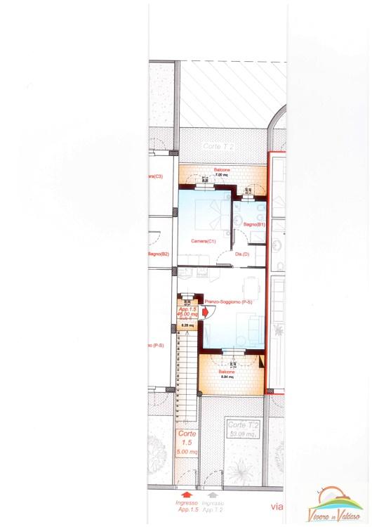 Appartamento in affitto a Altidona, 2 locali, zona Località: MarinadiAltidona, prezzo € 350 | CambioCasa.it