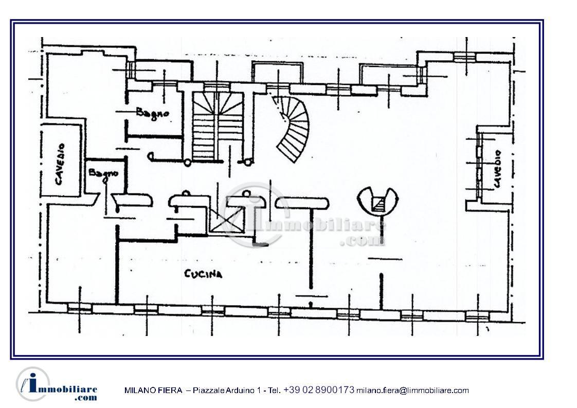 Appartamento in Vendita a Milano: 5 locali, 460 mq - Foto 9