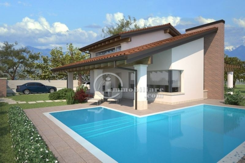 Villa in Vendita a Moniga Del Garda: 5 locali, 120 mq