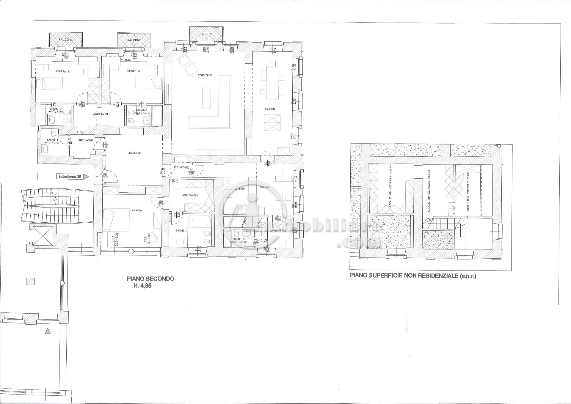 Appartamento in Vendita a Bergamo: 5 locali, 300 mq - Foto 9