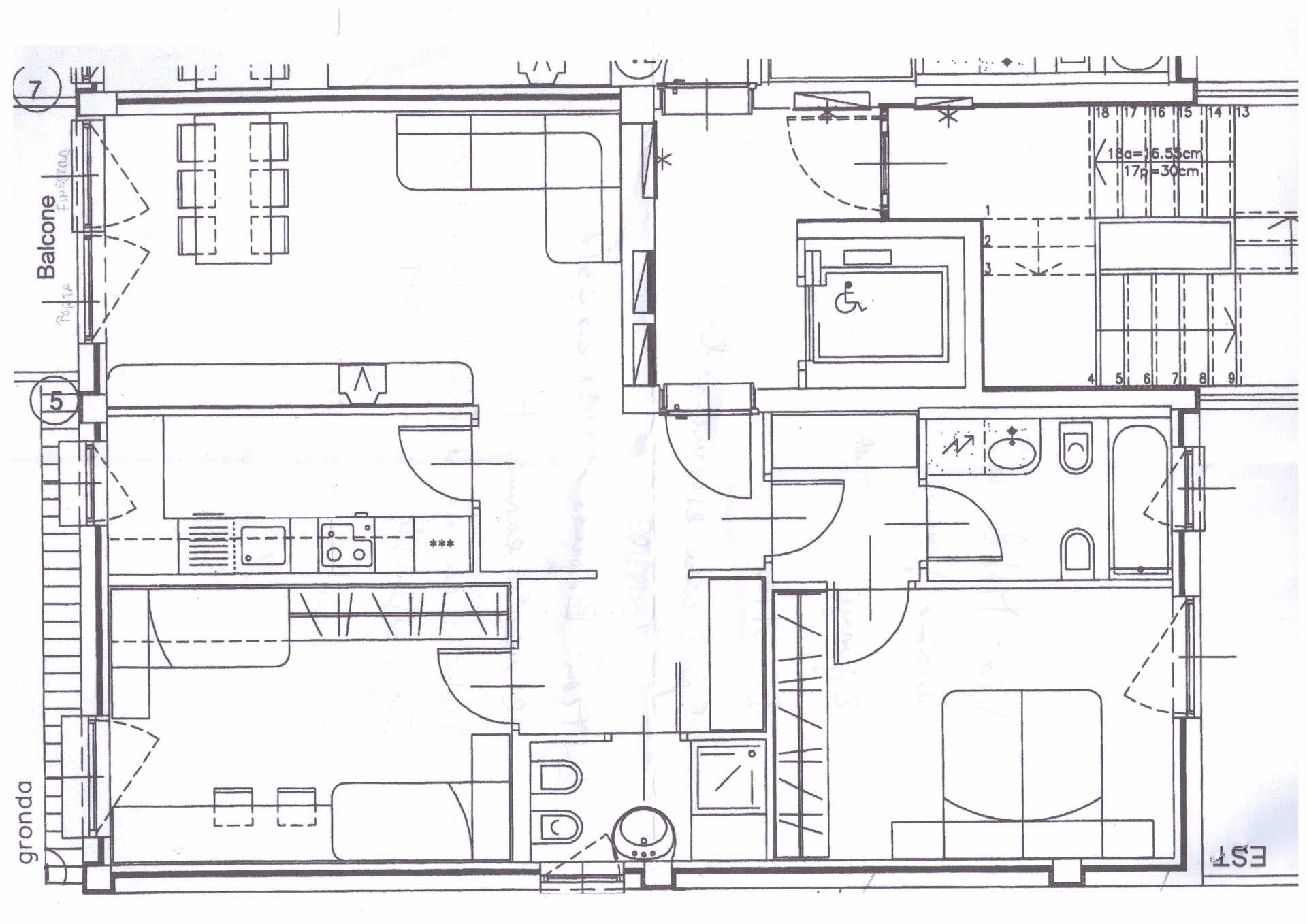 Appartamento in affitto a Bolzano, 4 locali, zona Zona: Residenziale, prezzo € 1.100 | CambioCasa.it