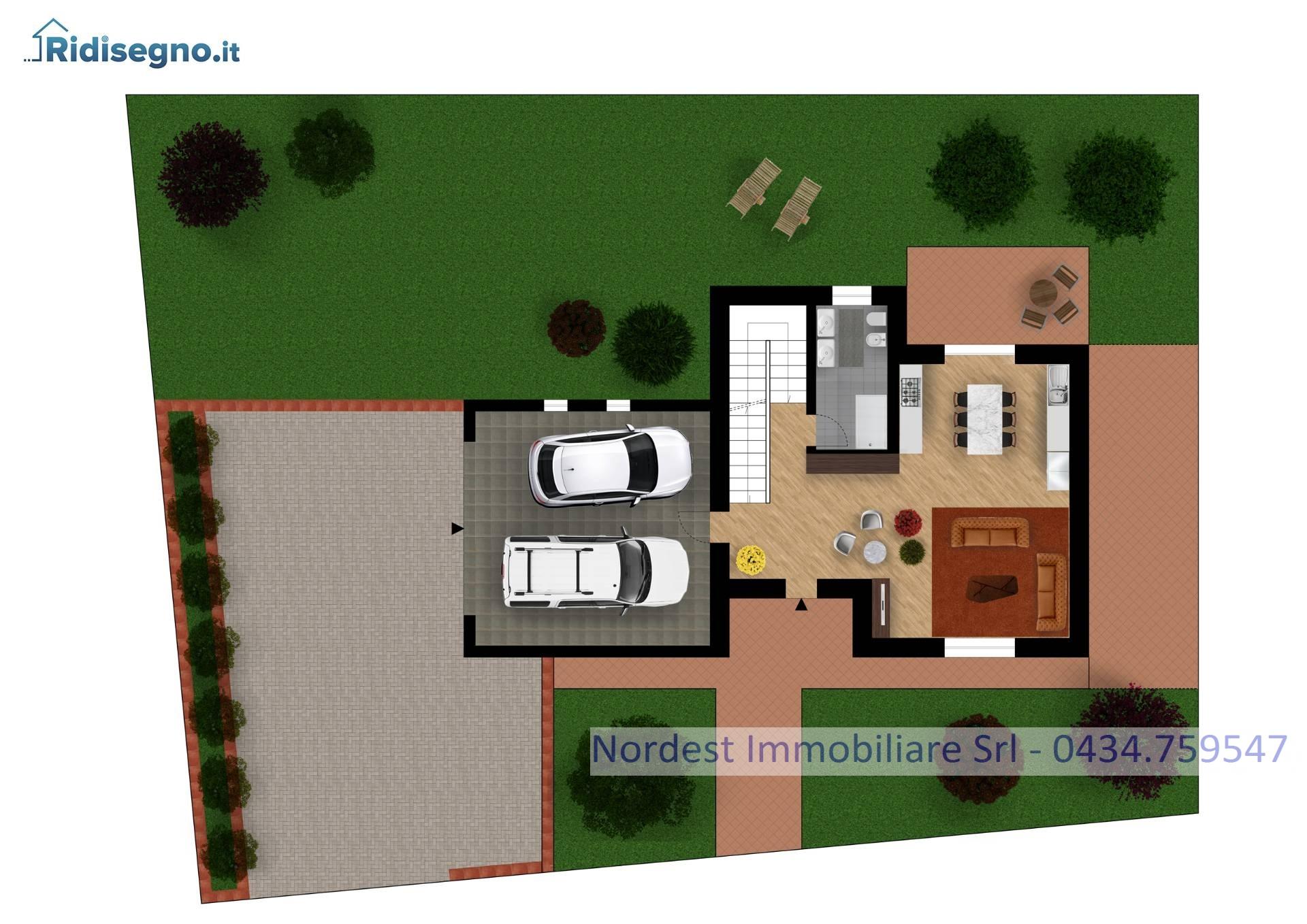 Villa Bifamiliare in vendita a Gaiarine, 6 locali, Trattative riservate | CambioCasa.it