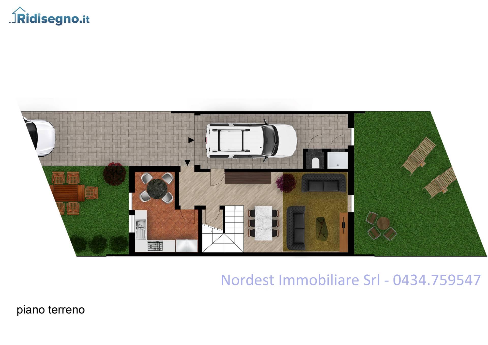 Villa a Schiera in vendita a Gaiarine, 6 locali, prezzo € 160.000 | CambioCasa.it