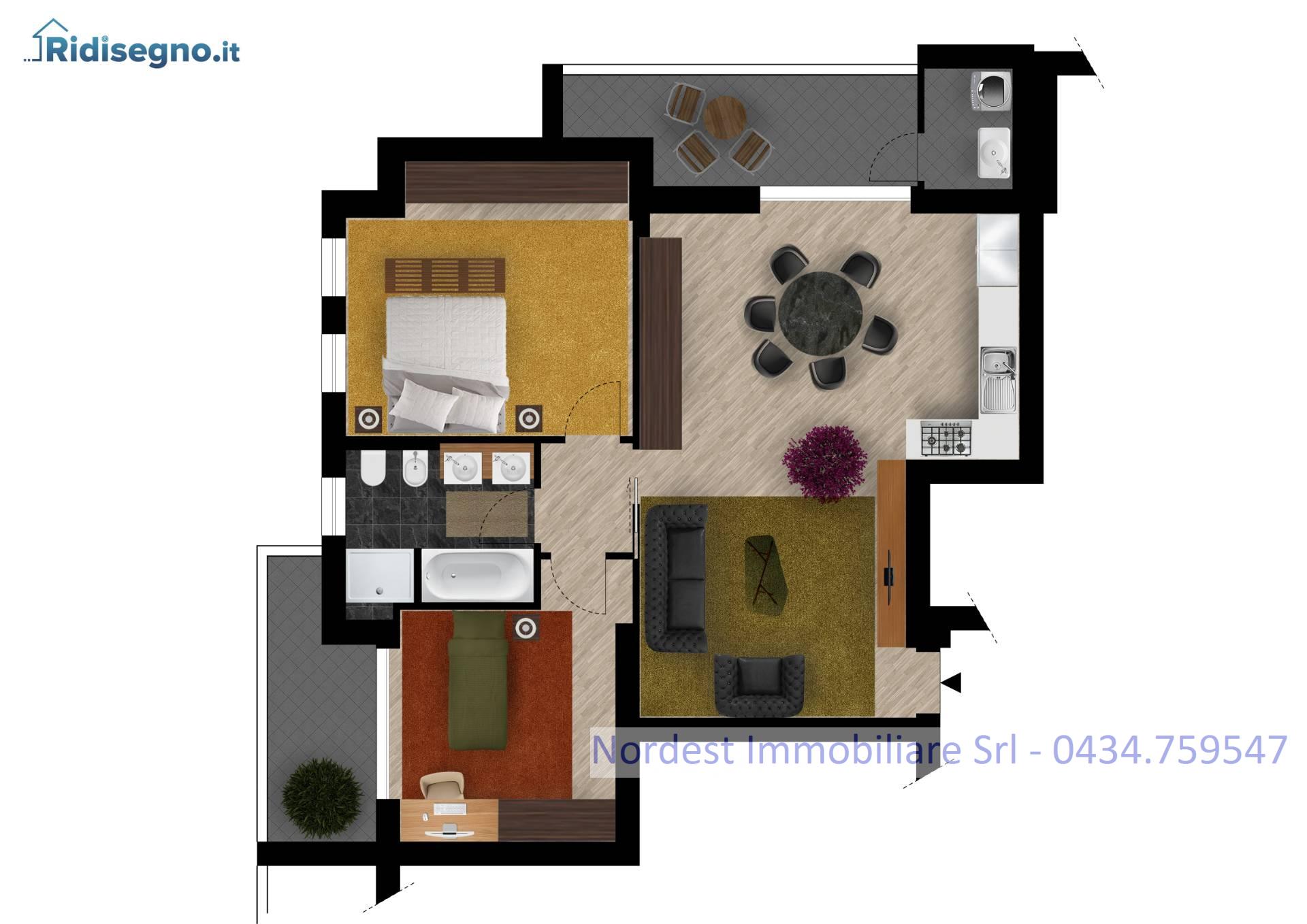 Foto - Appartamento In Vendita Codogne' (tv)