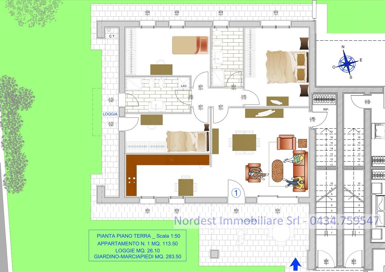 Appartamento in vendita a Santa Lucia di Piave, 6 locali, Trattative riservate   PortaleAgenzieImmobiliari.it