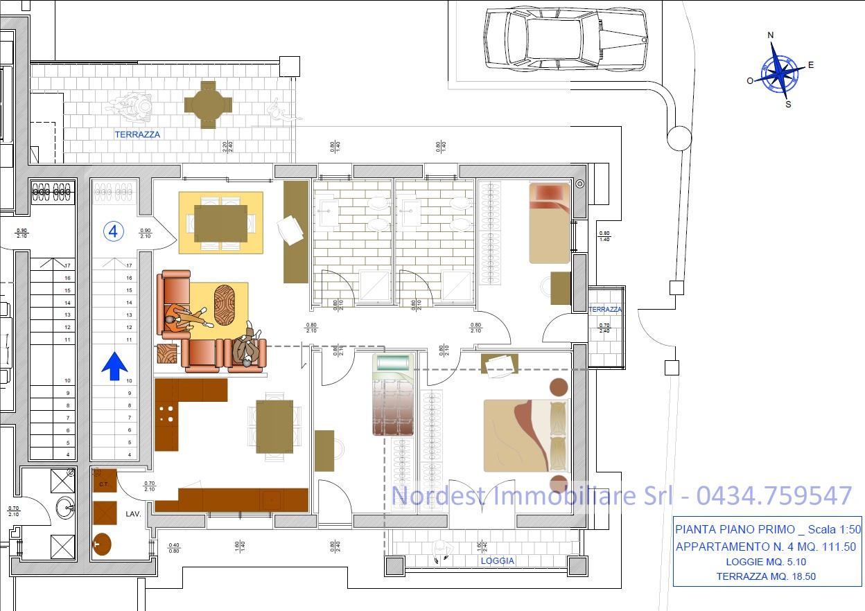 Appartamento in vendita a Santa Lucia di Piave, 6 locali, Trattative riservate | PortaleAgenzieImmobiliari.it