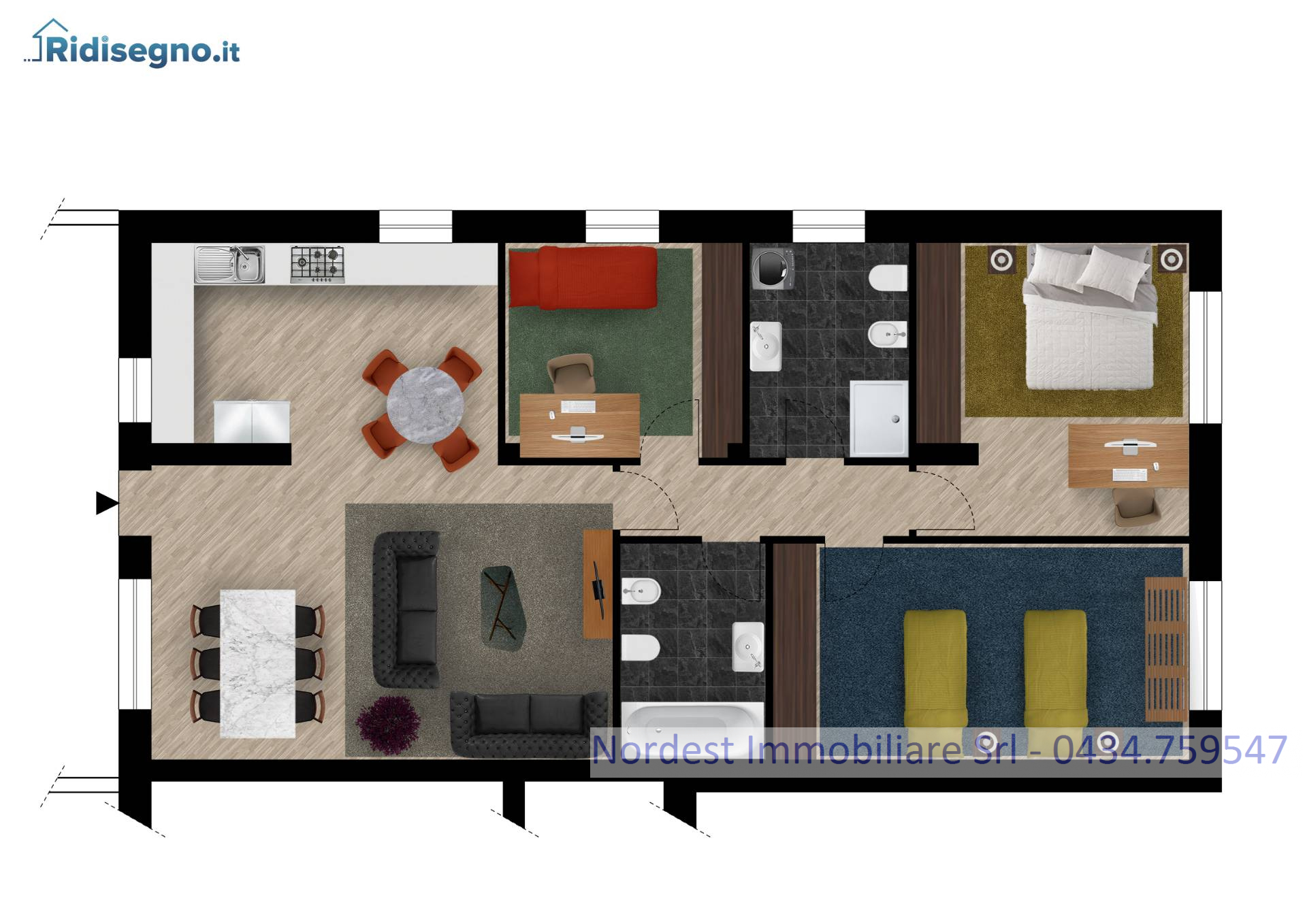 Appartamento in vendita a Gaiarine, 5 locali, Trattative riservate | CambioCasa.it