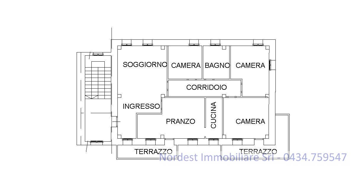 Appartamento in vendita a Codognè, 6 locali, prezzo € 65.000   CambioCasa.it