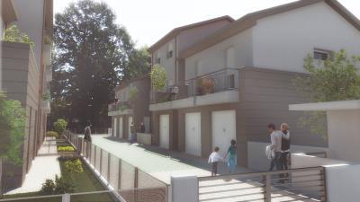 Villetta - Porzione con giardino in Vendita a Cento