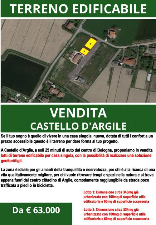 Terreno edificabile in Vendita a Castello d'Argile