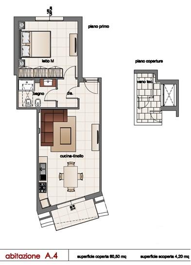 Appartamento in vendita a Matino, 4 locali, prezzo € 78.000 | Cambio Casa.it