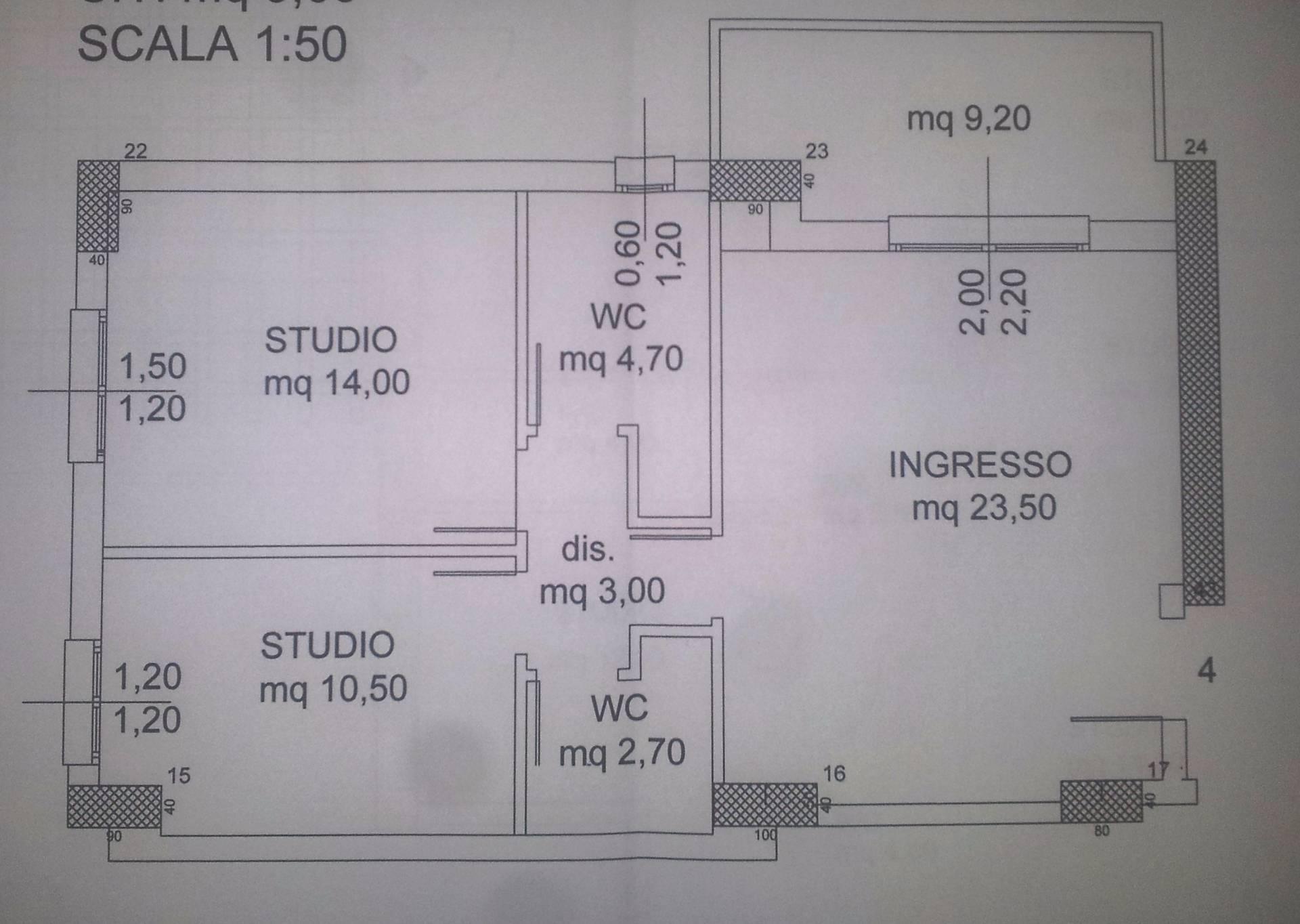 Ufficio / Studio in affitto a Cosenza, 9999 locali, zona Località: VialeMancini, prezzo € 400 | Cambio Casa.it