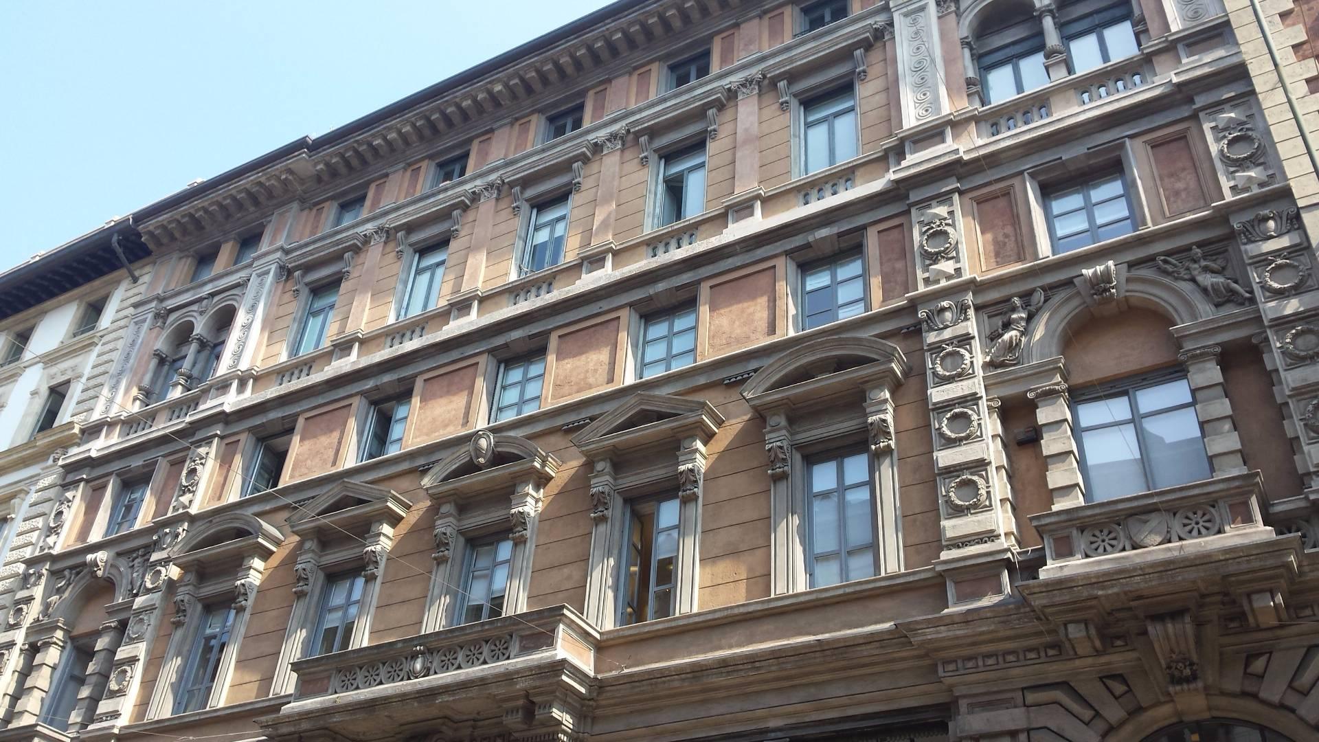 Ufficio in Affitto a Milano Cod. Via Dante 14, p3°