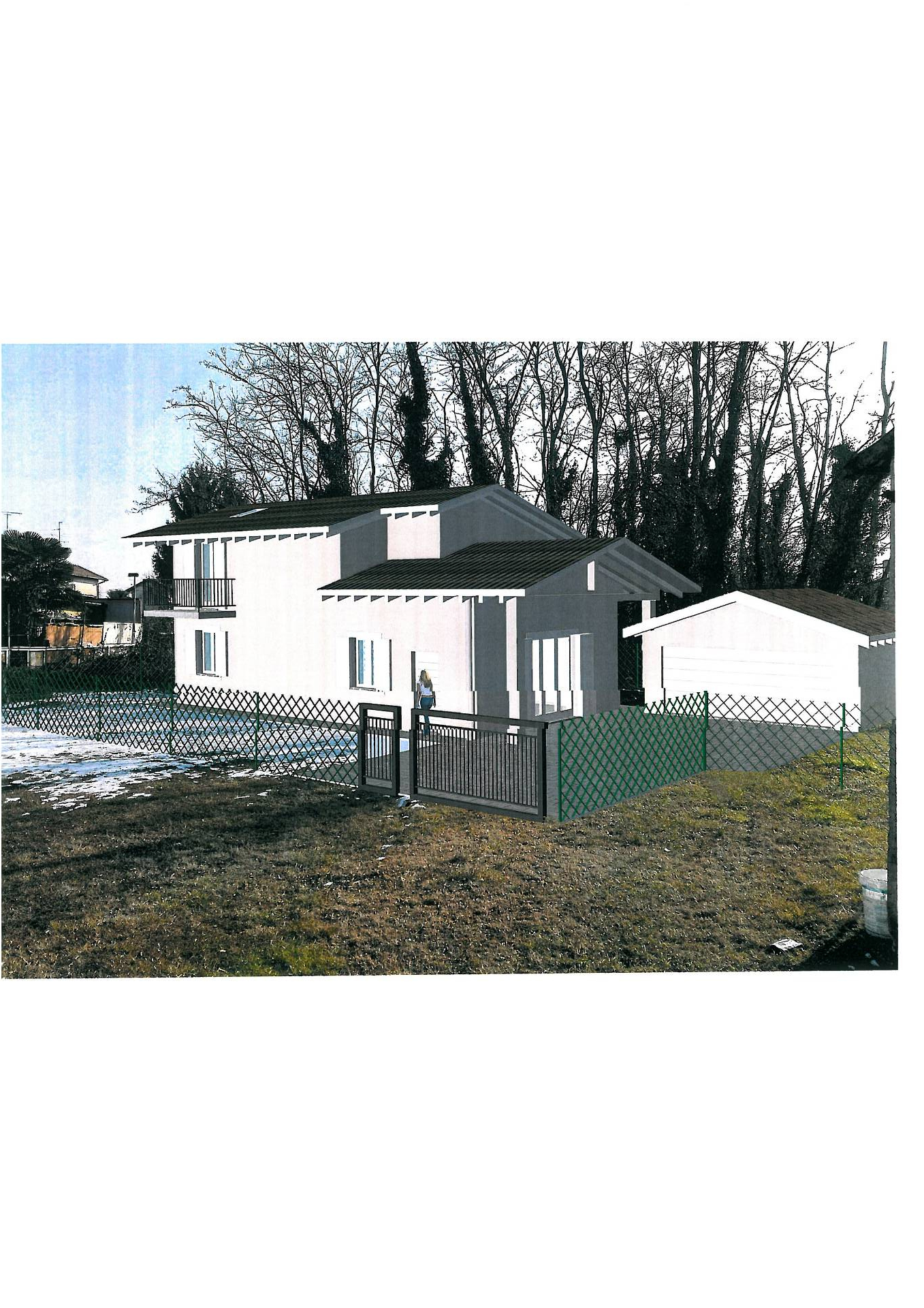 Terreno edificabile in vendita - 550 mq