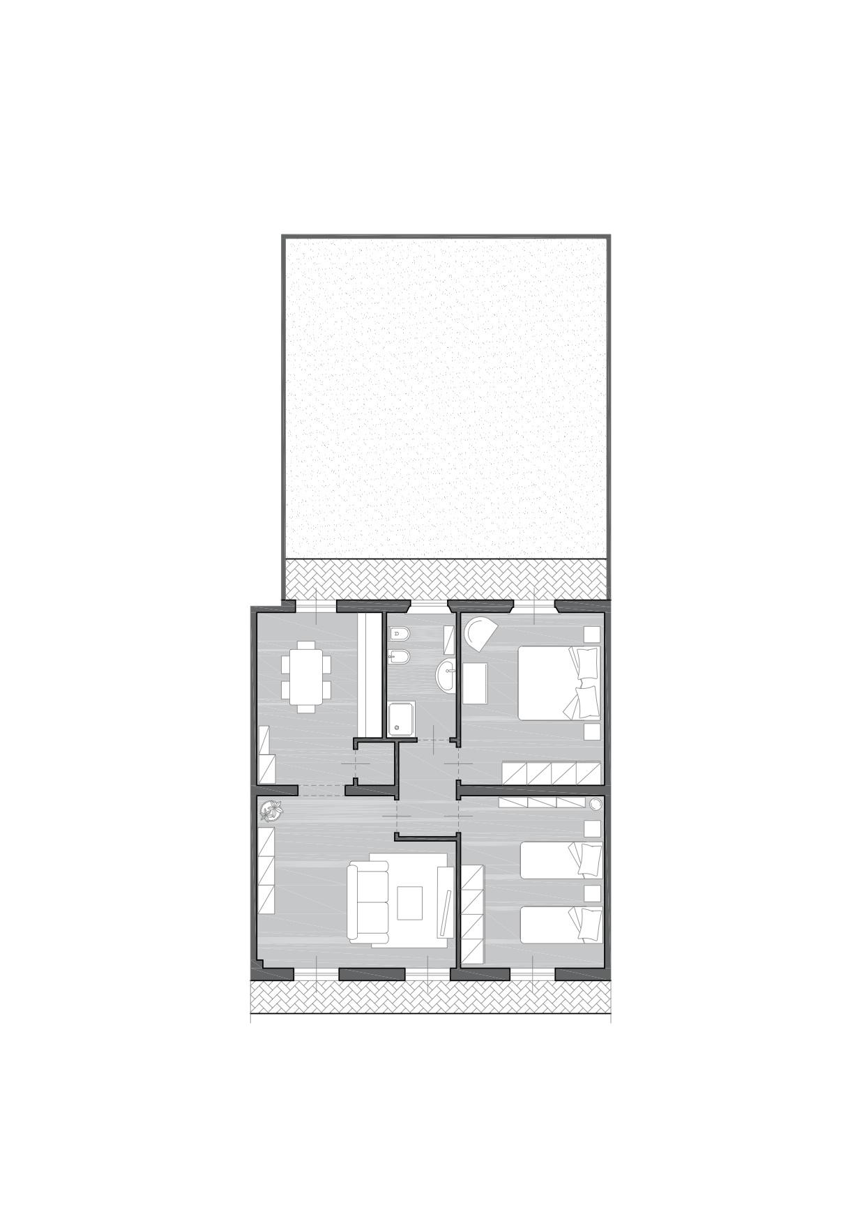 Appartamento in vendita a Pontedera, 4 locali, zona Località: LaRotta, prezzo € 39.000 | CambioCasa.it