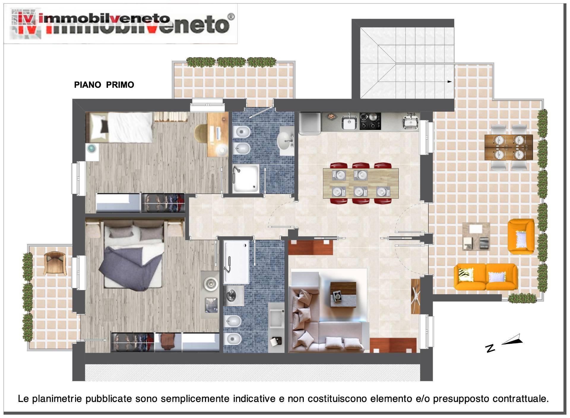 Appartamento in vendita a Lonigo, 5 locali, zona nna, prezzo € 128.000 | PortaleAgenzieImmobiliari.it