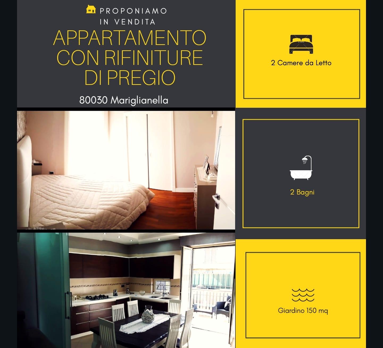 Appartamento in vendita a Mariglianella, 3 locali, prezzo € 215.000 | CambioCasa.it