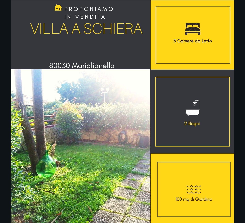 Villa a Schiera in vendita a Mariglianella, 4 locali, Trattative riservate | CambioCasa.it
