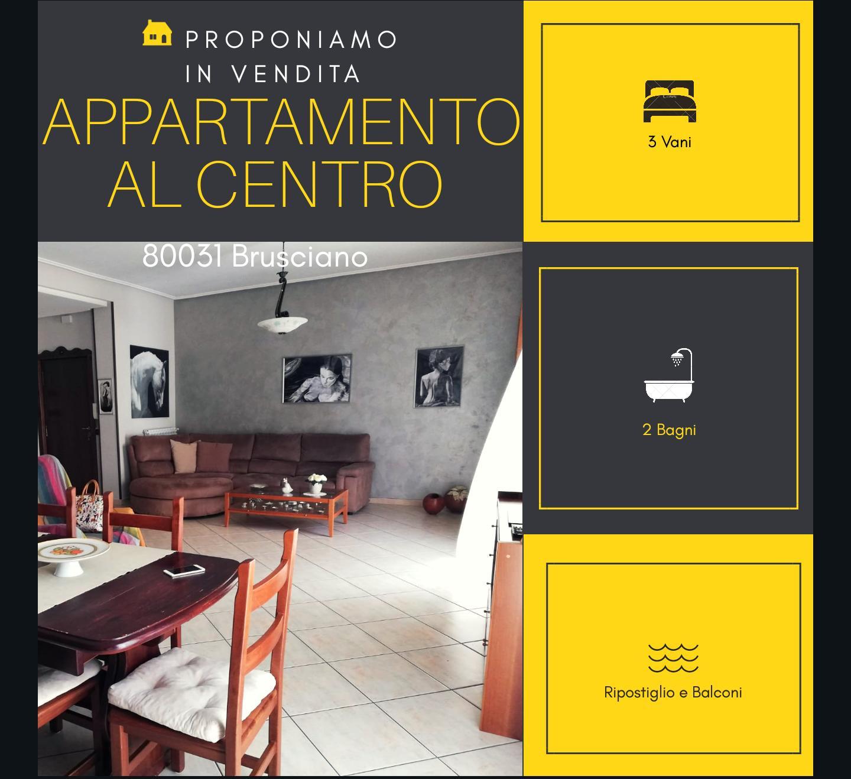 Appartamento in vendita a Brusciano, 3 locali, prezzo € 119.000 | CambioCasa.it
