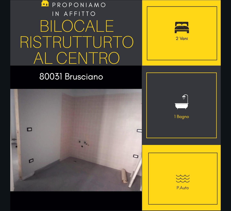 Appartamento in affitto a Brusciano, 2 locali, prezzo € 250 | CambioCasa.it