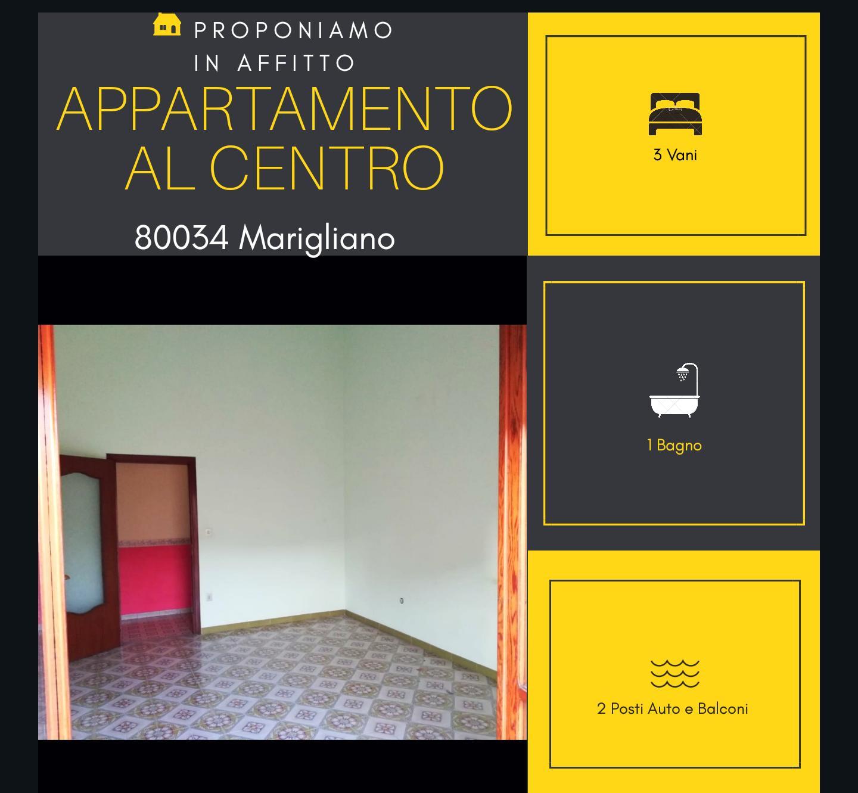 Appartamento in affitto a Marigliano, 3 locali, prezzo € 400 | CambioCasa.it