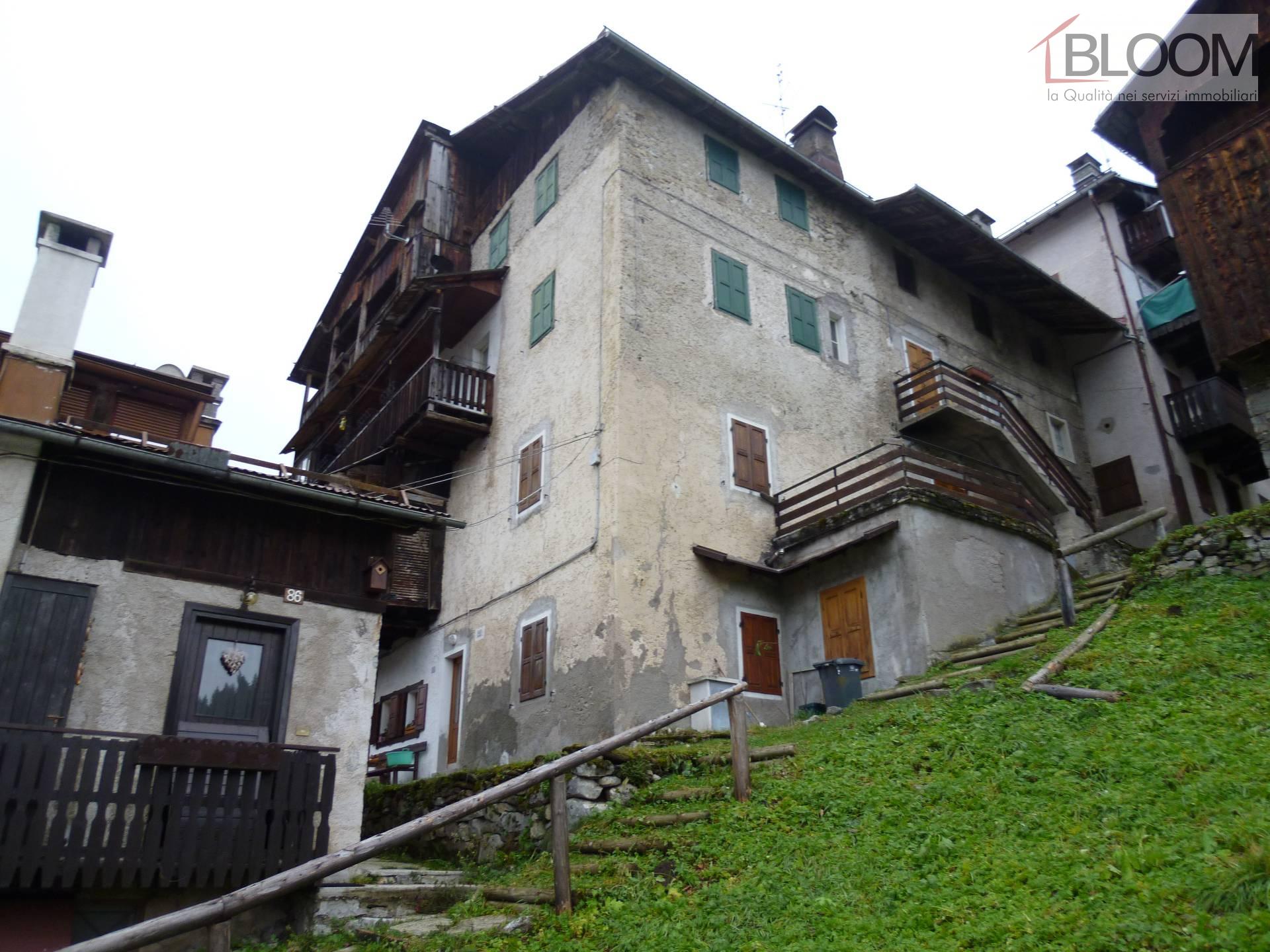 Appartamento in vendita a Cibiana di Cadore, 8 locali, zona ezze, prezzo € 55.000   PortaleAgenzieImmobiliari.it