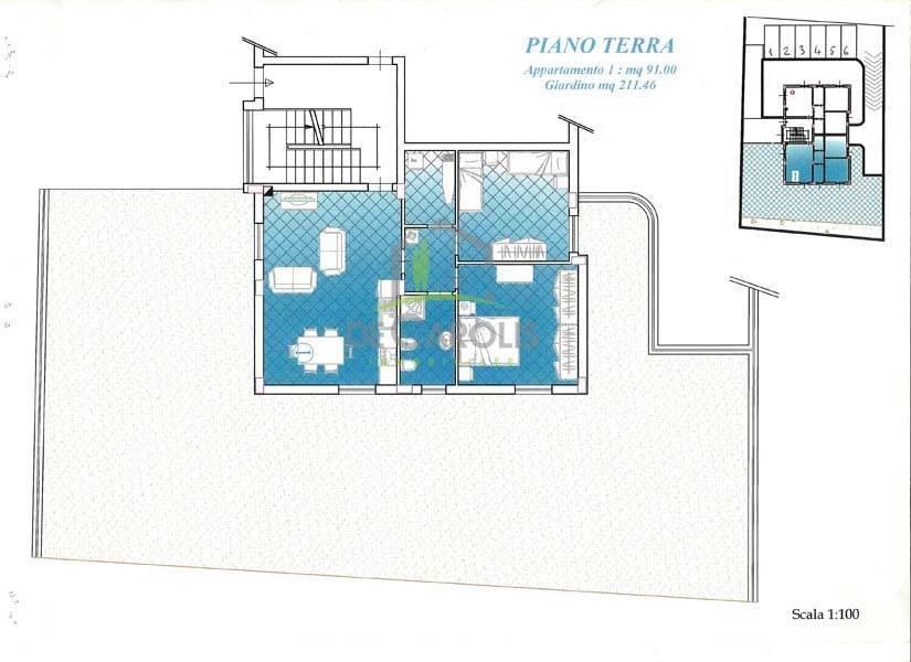 Appartamento in vendita a Roccafluvione, 4 locali, zona Zona: Marsia, prezzo € 132.000 | CambioCasa.it