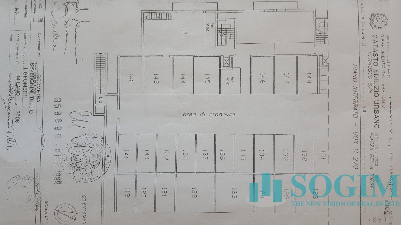 Immobile Commerciale in Vendita a Cernusco sul Naviglio  rif. 19859