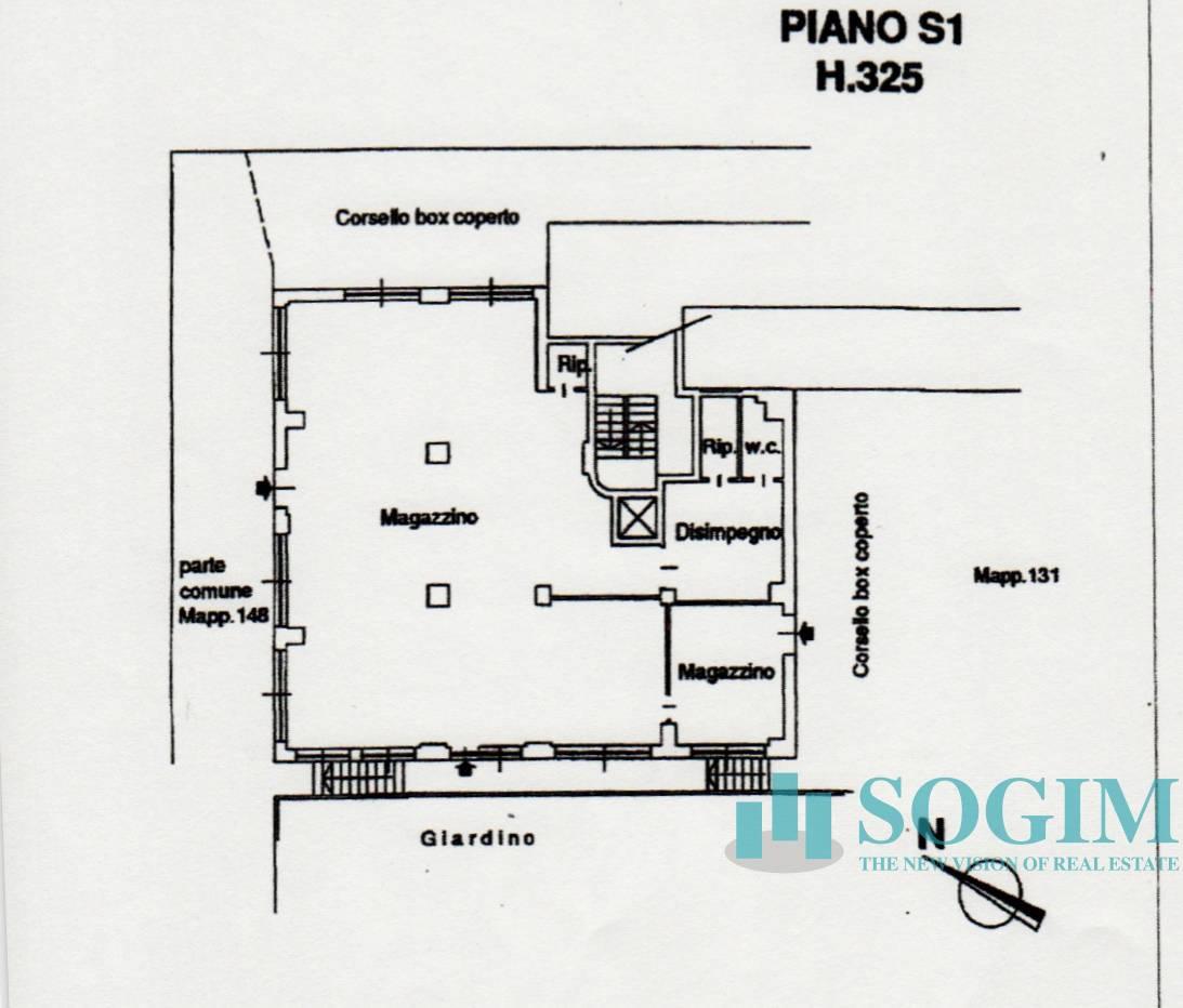 Magazzino in Vendita a Cinisello Balsamo  rif. 19271