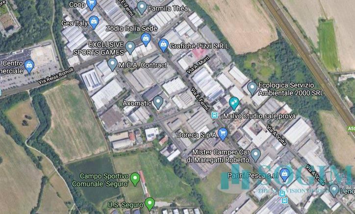 Terreno Industriale in Vendita a Settimo Milanese  rif. 20362
