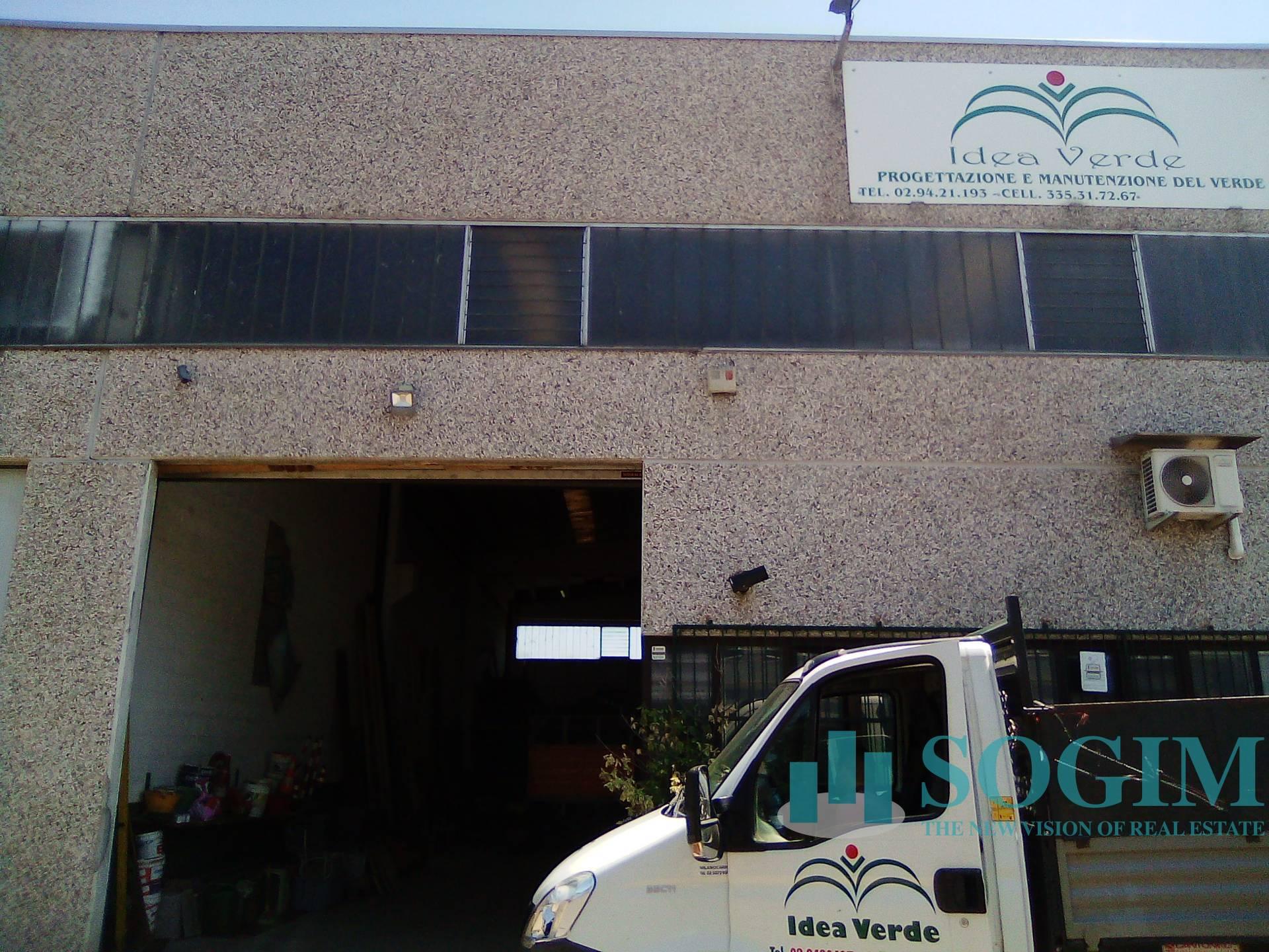 Capannone in Vendita a Abbiategrasso  rif. 20506