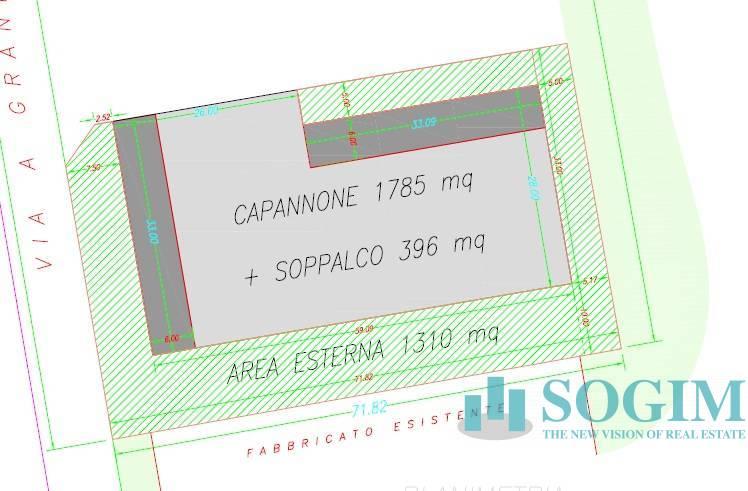 Capannone in Vendita a Truccazzano  rif. 20621