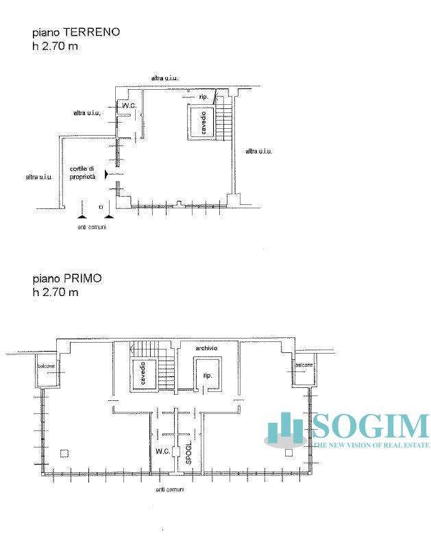 Vendita Ufficio diviso in ambienti/locali Ufficio Assago 261623