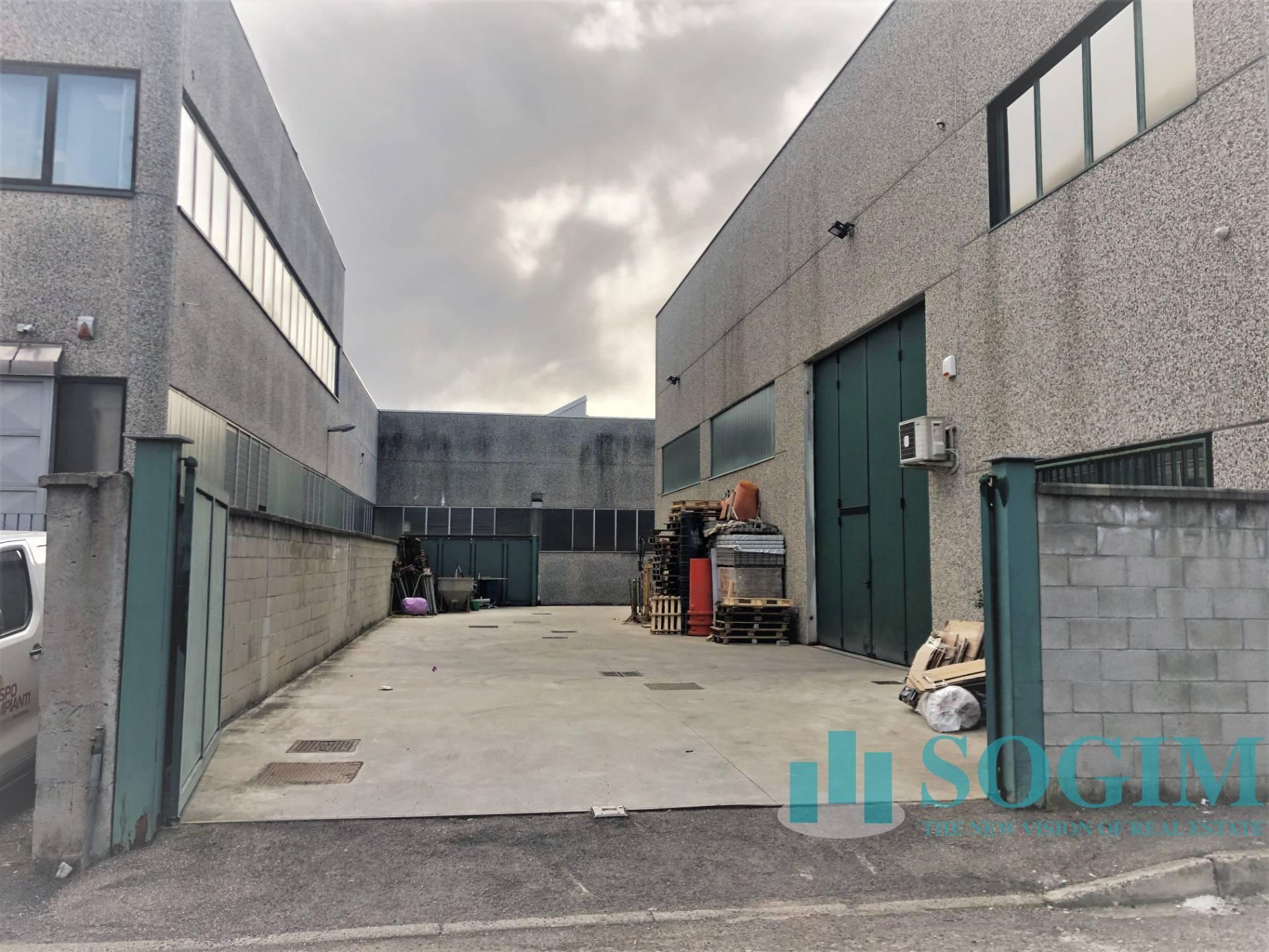 Capannone in affitto a Pogliano Milanese, 9999 locali, prezzo € 2.875 | PortaleAgenzieImmobiliari.it