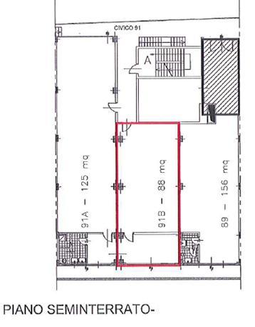 Capannone in Affitto a Cinisello Balsamo  rif. 3377