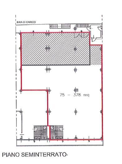Capannone in Affitto a Cinisello Balsamo  rif. 3381