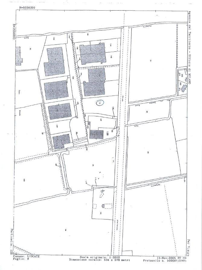 Terreno Industriale in Vendita a Liscate  rif. 6580