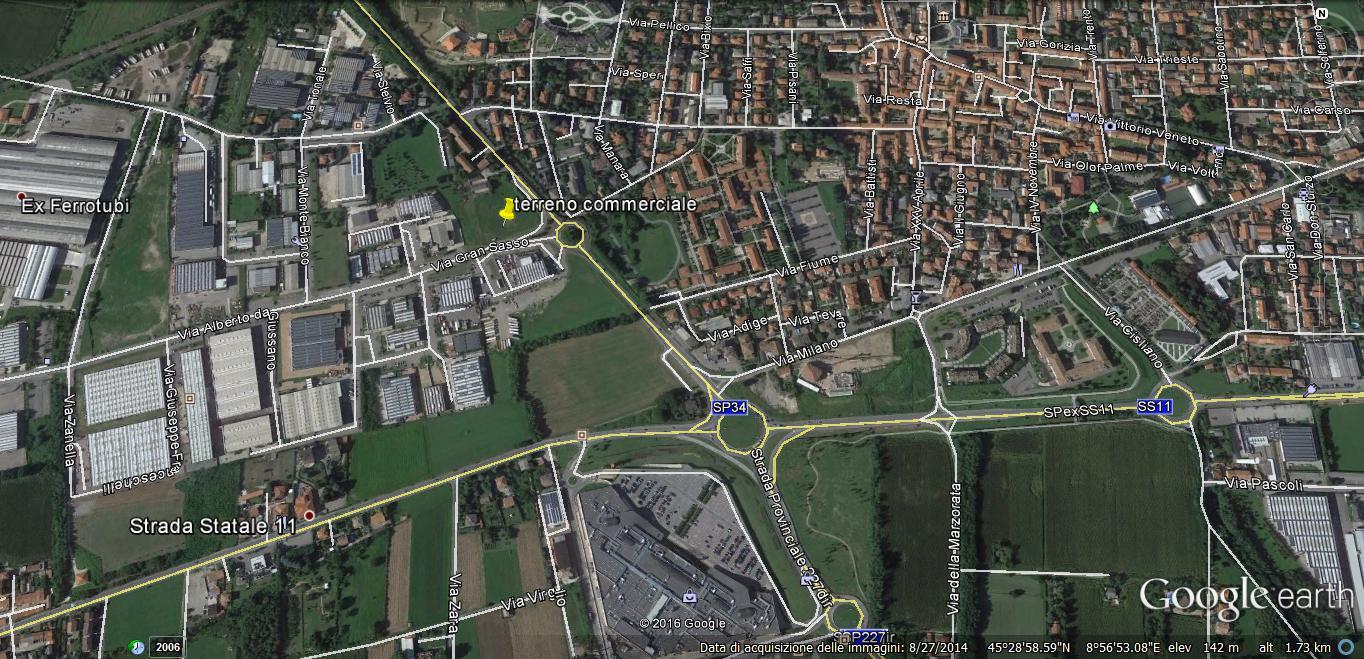 Terreno Industriale in Vendita a Vittuone  rif. 5215