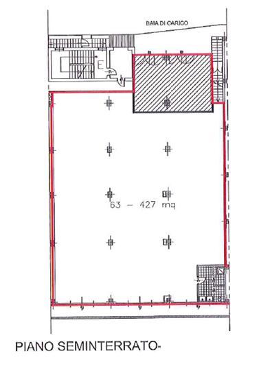 Capannone in Affitto a Cinisello Balsamo  rif. 3384