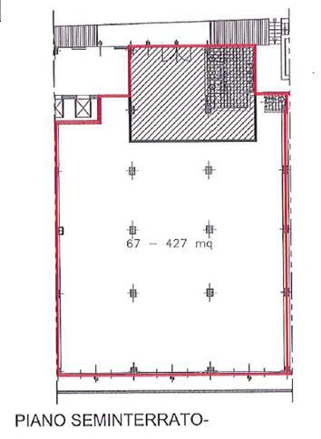 Capannone in Affitto a Cinisello Balsamo  rif. 3383